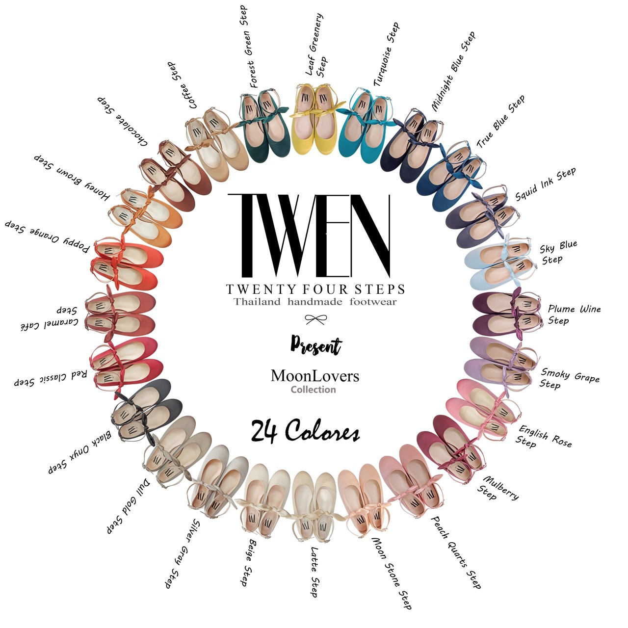 Twentyfoursteps,women,ผู้หญิง,รองเท้า,รองเท้าผู้หญิง,รองเท้าหุ้มส้น