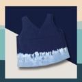 💙💙 blue bloom denim 💙💙 เสื้อผ้ามัดย้อมแขนกุด คอวีผ้ายีนส์เดนิมบางฟอกสี เสื้อมัดย้อม 🌀🌀🌀🌀🌀🌀🌀 ขนาด freesize รอบอก : 36นิ้ว ความยาว: 18 นิ้ว ❄❄❄❄❄❄❄❄ price: 300 .-  💦💦💦💦💦💦💦💦 #เสื้อสายเดี่ยว  #เสื้อแขนกุด #ผ้ายีนส์ #แฮนด์เมด  #เสื้อผ้าผู้หญิง #สินค้าพร้อมส่ง #สินค้าทุกชิ้นเป็นของทางร้านตัดเย็บเอง #เสื้อมัดย้อม #มัดย้อม #ผ้ามัดย้อม