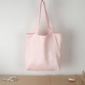"""กระเป๋าผ้าลินิน  ผลิตจากเส้นใยธรรมชาติ มีความทิ้งตัว น้ำหนักเบา และมีรอยยับเวลาใช้งานเป็นเอกลักษณ์ ที่สำคัญใส่ของหนักได้อีกด้วยยยยย :)   ตัดเย็บเรียบร้อย มีซับใน และกระเป๋าด้านในใบไม่เล็กสำหรับใส่ของกระจุ๊กกระจิ๊กไม่ให้ปะปนกับของส่วนใหญ่ ขอบปากกระเป๋าเย็บพับเข้าด้านในเพื่อความคงตัวของปากกระเป๋า สายเย็บกากบาททุกเส้นเพื่อความแข็งแรง   ++ MORE DETAIL ++  Material: Linen Fabric. Size: 16"""" x 15"""" x 3"""" Sling Strap Length: 42"""" Straps Length: 24"""" Lining & Inner Pocket : 7"""" x 7""""  Capacity: A4 Files, Book, Mac Book 13""""  ------------------------------------------------  #กระเป๋าผ้า #กระเป๋าผ้าลินิน #กระเป๋าสะพาย  #handmadebag #totebag #canvasbag #minimalstyle #basicstyle #koreanstyle  #hipsterstyle #minimal #basic #hipster  #pastel #stripe #polkadot #ของขวัญ  #กระเป๋าผ้าแคนวาส #กระเป๋าเป้"""
