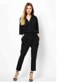 """ดีไซน์การแต่งตัวใหม่ๆ ให้กับตู้เสือผ้าของคุณด้วยชุดจั๊มพ์สูท V-Necked Chiffon Siamese จากแบรนด์ Mirror Dress ชุดกางเกงเอี๊ยมผลิตจากผ้าชิฟฟ่อนคุณภาพดี ทรงสวย สวมใส่สบายพร้อมสายเข็มขัดสำหรับรัดเอว ให้อารมณ์สดใส กระฉับกระเฉงในทุกๆ โอกาสของคุณ  - ตัดเย็บจากผ้าชิฟฟ่อน - แขน 5 ส่วน - มีสายรัดช่วงเอวเข้ากัน - กระเป๋าข้าง 2 ช่อง  ไหล่ x อก x เอว x สะโพก x ยาว M (14"""" x 36"""" x 28"""" x 36"""" x 49"""") L (15"""" x  38"""" x 30"""" x 38"""" x 49.5"""") XL (16"""" x 40"""" x 32"""" x 40"""" x 50"""" )"""