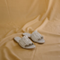 Pete Sandals Cream 35-40 970 free shipping ————————————