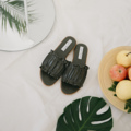 Pete Sandals Olive green 35-40 970 free shipping ————————————