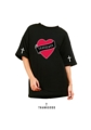 """เสื้อยืด THANKGODD Color : black Size : freesize , oversize อก 44"""" / ยาว 26""""  #เสื้อยืด #เสื้อยืดคอกลม #เสื้อยืดแขนสั้น #เสื้อยืดสีดำ"""