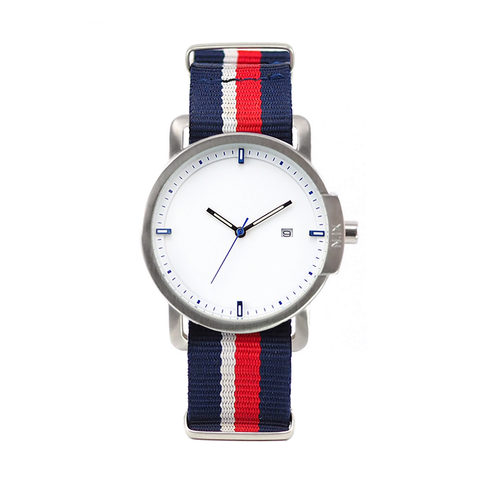 ฟรีจัดส่ง,NIXwatch,NIXstudio,OceanProject,Minimalwatches,stainless,nylon,street,mesh,leather,giftset,Unisex,gift,Metallic,present,red,navy,blue,green,silver,white