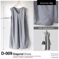 """ชื่อสินค้า : Diagonal Dress รหัสสินค้า : D-009   เดรสทรงหลวมๆใส่สบาย จะใส่เดี่ยวๆ หรือใส่กับเข็มขัดก็ได้ค่ะ คอวี มีกระเป๋า2ข้างค่ะ ตัดเย็บด้วยผ้าเฉลียงโดยรอบ ชายกระโปรงงุ้มเข้าเล็กน้อยค่ะ  ใส่คู่กับรองเท้าผ้าใบสีขาว รับรองว่าออกมาดีมีสไตล์แน่นอน   รายละเอียดสินค้า + ขนาด : Freesize รอบอกกว้างได้ถึง 42""""  + โทนสี : เทาอ่อน + เนื้อผ้า : คอตตอน  #becausedog #เสื้อผ้าผู้หญิง #dress #เดรส #เดรสสั้น #เดรสสั้นแขนกุด #เดรสแขนกุด #เดรสคอวี #แขนกุด"""