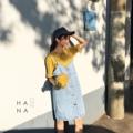 """❁ Kira Jeans Overalls เอี๊ยมเดรสยีนส์สายเดี่ยวทรงตรงสียีนส์อ่อน กระดุมหน้า ใส่กับเสื้อยืดหรือเสื้อเชิ้ตน่ารักมาก - - - - - - - - - - - - •• ยาวรวมสาย 34.5"""" อก 34"""" เอว 36"""" สะโพก 37"""" ไหล่ free รอบต้นแขน free •• ราคา 690 บาท  #เสื้อผู้หญิง #เดรสสั้น #เอี๊ยมเดรส #เดรสสั้น  #เดรสสายเดี่ยว #สายเดี่ยว"""