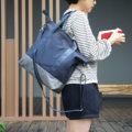วัสดุ  : ตัวกระเป๋าทำจากผ้าแคนวาสเนื้อหนา 22 oz.  : ก้นกระเป๋าทำจากผ้า PU สามารถกันน้ำได้   ทำความสะอาดได้ง่าย ด้วยการใช้ผ้าชุบน้ำเช็ด  ป้องกันเวลาวางตามที่ต่างๆก้นจะไม่เลอะสกปรกง่าย   : สายกระเป๋าเป็นสายสำเร็จผ้าไนล่อนชนิดหนา เวลาสะพายจะป้องกันการขูดกับเสื้อผ้า  ขนาดกระเป๋า กว้าง 42 cm. ยาว 44 cm.  ปากกระเป๋ามีซิปปิด  #กระเป๋า #กระเป๋าผ้า #กระเป๋าสะพาย #กระเป๋าถือ