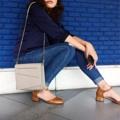 Looking for a comfy bag !!  แนะนำใบนี้เลยคะ Cherish Collection กระเป๋าสไตล์ cross body ที่มาพร้อมกับสายโซ่แข็งแรง ขนาดไม่ใหญ่ไป ไม่เล็กไป สามารถพกพาไปได้ทุกที่  Color : Ash Grey Size : 7x21x19.5 (ก ย ส)  ราคา : 1,550 บาท (ส่งฟรี ems)   #UCANWEAR #กระเป๋า #กระเป๋าสะพาย #กระเป๋าผู้หญิง
