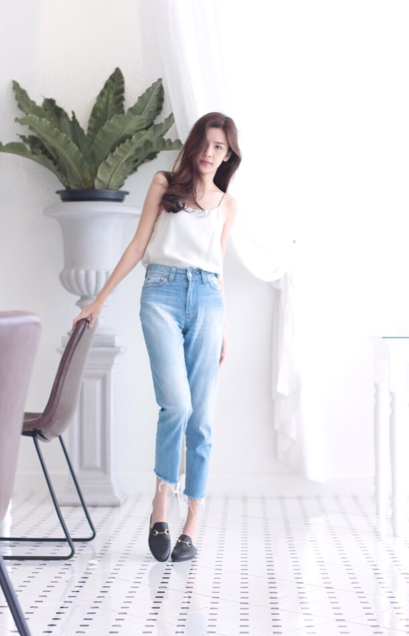 กางเกง,กางเกงยีนส์,ยีน,ยีนส์,jean,jeans,denim,ทรงบอย,GeneDenim