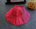 """""""คุณสมบัติ - พับเก็บได้ พกพาสะดวก - หมวกกันแดดแฟชั่น ออกแบบทันสมัย - สามารถถอดประกอบได้ ป้องกัน รังสี UV จากแสงแดดได้ - ผลิตจากผ้า Cotton ทีความทนทาน น้ำหนักเบา ระบายอากาศได้ดี"""""""