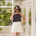 ชื่อสินค้า : Around me กระโปรงสั้น โบว์ผูกเอว จากผ้าลินินอย่างดี  ฟรีไซส์ สามารถปรับรอบเอวและสะโพกได้ Mix and match กับอะไรก็เก๋    รายละเอียดสินค้า + ขนาด : freesize + โทนสี : ขาว (soft white)  #CESTLAVIE #กระโปรง #กระโปรงสั้น #กระโปรงผูก #ผูกเอว