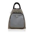 """[ ลดราคาเหลือ 1,390 บาทจาก 1,795 บาท ]  Dimension: 7"""" x 9"""" x 10.5"""" / 525 g.  Huskies กระเป๋าสะพายแฟชั่นสตรี รุ่น HK02-653  คุณสมบัติ : - กระเป๋าถือ/เป้แฟชั่น รุ่นใหม่ล่าสุดจากแบรนด์ Huskies - ผลิตจากผ้าโพลีเอสเตอร์คุณภาพดี งานปราณีต เข้าง่ายกับทุกชุด ทุกสไตล์ของคุณ - เคลือบกันน้ำ น้ำหนักเบา เหมาะกับวันเดินเล่นเบาๆหรือสะพายเก๋ๆชิวๆ ตกแต่งกระเป๋าซิปช่องหน้าด้วยผ้าริ้วลายทาง ดูชิคๆ - ใบนี้ช่องหลักเป็นช่องซิปอย่างดี จุของได้เยอะ - ภายในกระเป๋ากว้าง มีช่องซิป 1 ช่องพร้อมสายห้อยกุญแจให้ด้านใน ซับในผ้าอย่างดี ไม่บาง - ด้านหลัง 1 ช่องซิป - สายสะพายยาว ปรับระดับได้ตามต้องการ - มีหูจับถนัดมือ  แถมฟรี !!! พวงกุญแจลายน่ารักๆ จากแบรนด์ Huskies"""