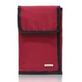 """[ ลดราคาเหลือ 690 บาทจาก 895 บาท ]  Dimension : Folded: 0.5""""x5.25""""x8"""" ,Unfold: 15.75"""" x 8""""  Huskies กระเป๋าพาสปอร์ต รุ่น HK02-670   กระเป๋าพาสปอร์ต (3 IN 1) กระเป๋าใบเล็กที่รวบรวมทุกลักษณะการใช้งานของคุณ เป็นกระเป๋าที่สามารถใช้สะพายได้ / หรือถอดสายใช้ถือแบบธรรมดาได้ / หรือใช้สอดกับเข็มขัด เป็นแบบคาดเอวได้   คุณสมบัติ  - กระเป๋าเป็นแบบพับสามตอน สามารถใส่พาสปอร์ตสำหรับเดินทางได้มากถึง 2 เล่ม - ภายในมี - ช่องซิปตาข่าย 1 ช่อง - ช่องใส่การ์ดและพาสปอร์ตรวม 7 ช่อง  - ช่องใส่เหรียญแบบกระดุมแม่เหล็ก 1 ช่อง - ช่องเสียบปากกา 2 ช่อง - 1 ช่องซิปด้านหลังและ 1 ช่องเก็บสายด้านหลัง - สายกว้าง 2 ซม. ยาว 55 นิ้ว ( 140 ซม.) - ขนาด Folded: กว้าง 0.5"""" x ยาว 5.25"""" x สูง 8"""" ,Unfold: ยาว 15.75"""" x สูง 8""""  Description : HK02-670  Polyester, light weight, and water resistance. When unfolded - Zipped inner pocket - 7 Drop pockets - 2 Pen holder - 1 Zipped back pocket - 1 drop pocket when folded Flap covered pocket with metal button closure Adjustable shoulder strap  แถมฟรี !!! พวงกุญแจลายน่ารักๆ จากแบรนด์ Huskies"""