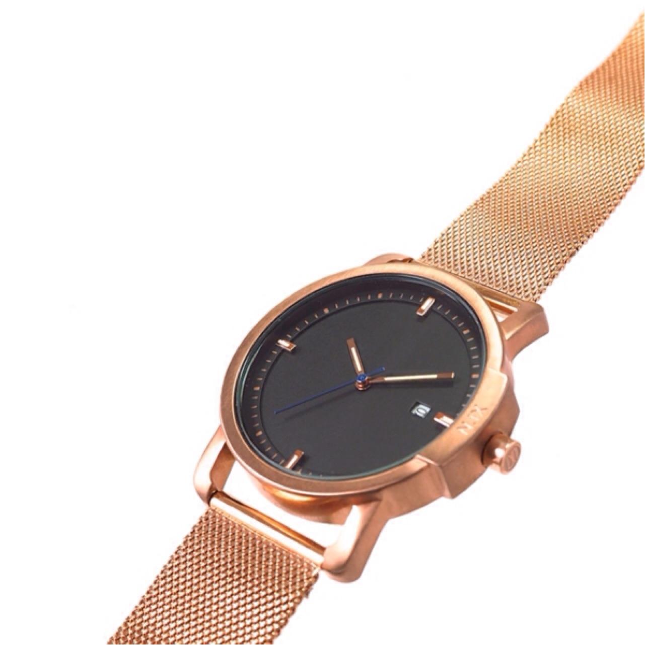 ฟรีจัดส่ง,NIXwatch,NIXstudio,OceanProject,Minimalwatches,stainless,mesh,leather,giftset,Unisex,gift,Metallic,present,black,navy,blue,gold,rosegold,นาฬิกา