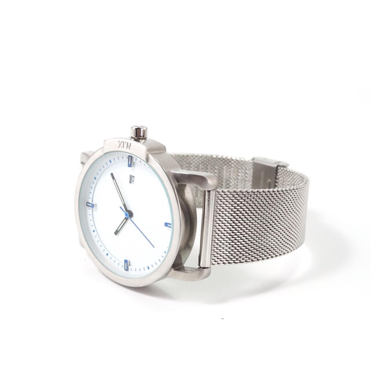 ฟรีจัดส่ง,NIXwatch,NIXstudio,OceanProject,Minimalwatches,stainless,mesh,leather,giftset,Unisex,gift,Metallic,present,blue,white,silver,navy,นาฬิกา,นาฬิกาข้อมือ