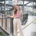 Tropical crossback cami  #เสื้อผู้ญิง #เสื้อผ้าผู้หญิง #เสื้อสายเดี่ยว #สายเดี่ยว