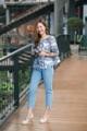 Tropical offshoulder top  #เสื้อผู้หญิง #เสื้อผ้าผู้หญิง #เสื้อปาดไหล่ #ปาดไหล่ #เสื้อเปิดไหล่ #เปิดไหล่ #เสื้อแขนยาว