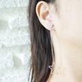 New in long Star earrings  Price : 120-.   #Twentyteen #ต่างหู #เครื่องประดับ #เครื่องประดับผู้หญิง