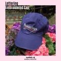 Lettering Embroidered Cap (Price 790฿)  #MermaidBackyard