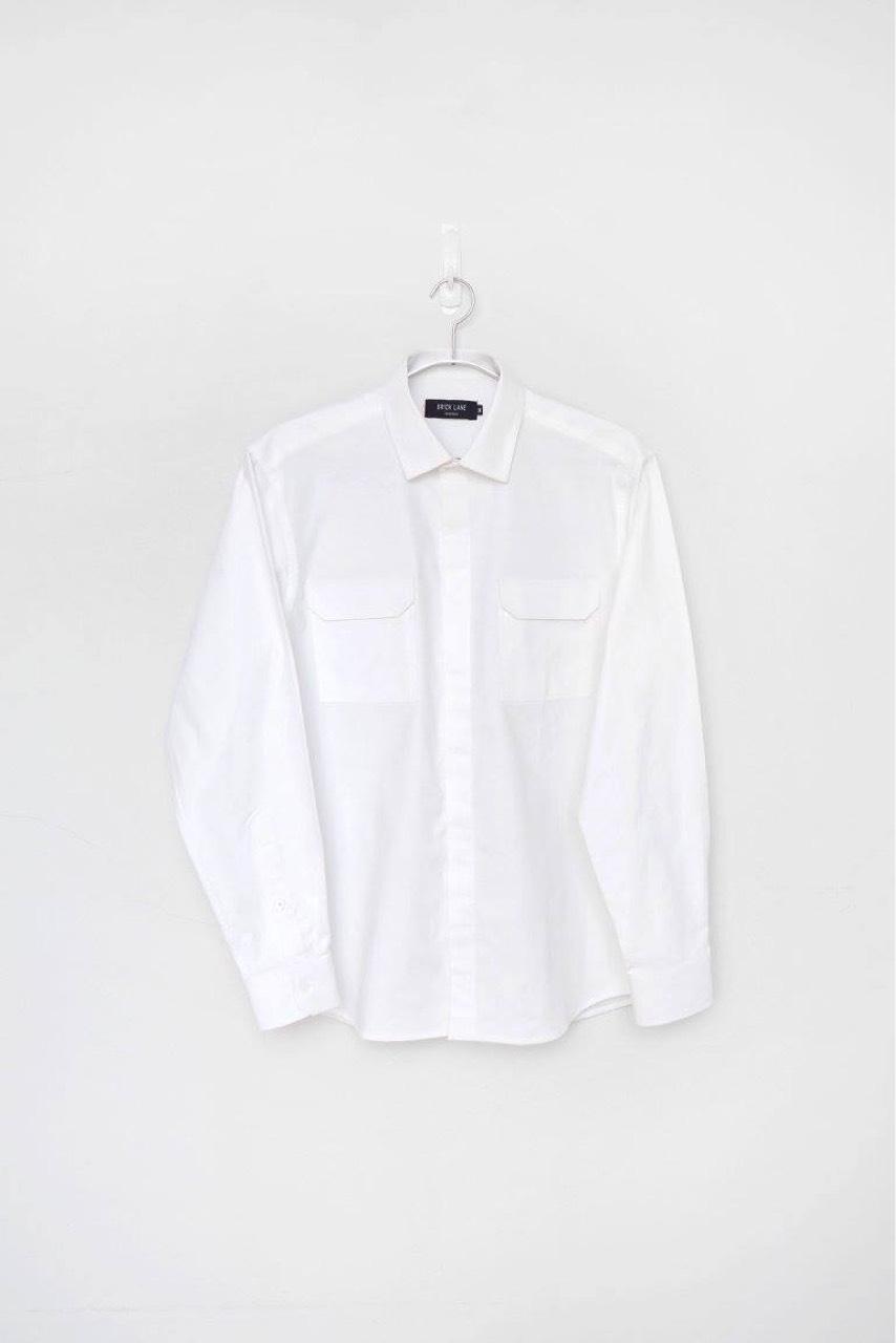 menswear,BrickLane,เสื้อผู้ชาย,เสื้อผ้าผู้ชาย,เสื้อเชิ้ต,เสื้อเชิ้ตแขนยาว,เสื้อเชิ้ตสีขาว
