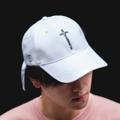 """ Velika Cross Addicted Collection""  "" หมวก Velika Cross Addicted "" หมวกแก๊ปเนื้อผ้าชาลีจาก VELIKA ผลิตออกมาในแบบที่ใช้หางหมวกยาวเป็นพิเศษ พร้อมสายปรับแบบ Metal Ring สุดคลาสสิค . Color - Crystal Black (ดำ) - Ghost White (ขาว) . Price : 450 บาท  !!! Promotion !!! Bundle Pack ซื้อครบเซ็ทถูกกว่า - เสื้อ Velika Cross Addicted - หมวก Velika Cross Addicted สินค้า 2 รายการ ปกติ 950 บาท ซื้อคู่ ลดเหลือเพียง 800 บาท . ""สินค้าคอลเลคชั่นนี้ มีจำนวนจำกัด""  #หมวก #หมวกแก็ป #หมวกแก๊ป"