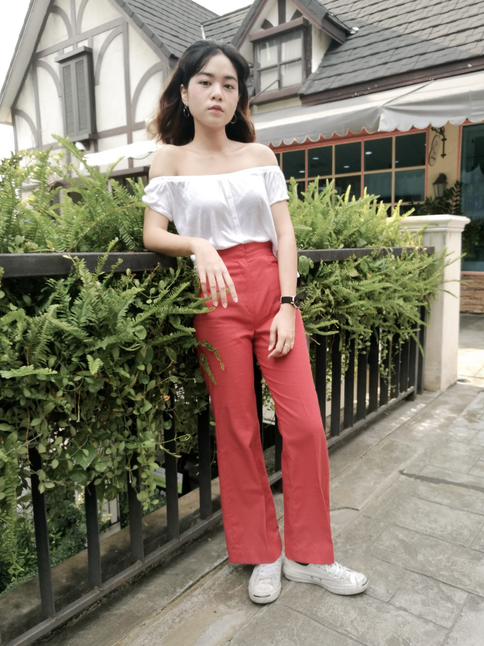 กางเกงขายาว,กางเกงแฟชั่น,กางเกงเอวสูง,กางเกงผู้หญิง,กางเกงขาม้า,กางเกงทํางาน,กางเกงผ้าเนื้อดี,กางเกงขาบาน,กางเกงเอว
