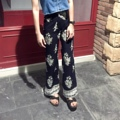 High-waisted bootscut pants Size : waist/hip S : 24-25 / 35 M : 26-27 / 37 L : 28-29 / 39 Price : 320 b.  ผ้าฝ้ายเนื้อนิ่ม สีนี้ผ้าค่อนข้างบางนะคะ แต่ใส่แล้วไม่โป๊ ไม่เห็นเนื้อค่ะ  #กางเกง #กางเกงขายาว #กางเกงเอวสูง #กางเกงผู้หญิง #กางเกงขายาวผู้หญิง