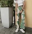 กางเกงเอวสูง High-waisted bootcut pants  Size : waist/hip S : 24-25 / 35 M : 26-27 / 37 L : 28-29 / 39  Price : 380 b.  #กางเกงขายาว #กางเกงแฟชั่น #กางเกงเอวสูง #กางเกงผู้หญิง #กางเกงขาม้า #กางเกงทํางาน #กางเกงผ้าเนื้อดี #กางเกงขาบาน #กางเกงเอวสูง