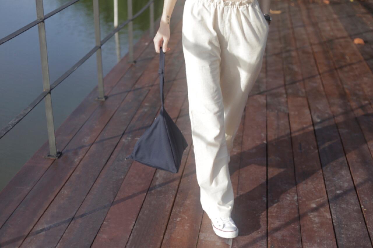 CHAPIEEofficial,bag,กระเป๋าถือ,กระเป๋า,กระเป๋าทรงสามเหลี่ยม
