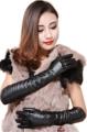 """""""ถุงมือหนังเทียมคุณภาพเยี่ม ใส่เป็นถุงมือแฟชั่่น หรือสามารถใช้กันหนาวได้   ผลิตจากวัสดุคุณภาพดี สวมใส่กันหนาว เพิ่มความสวยงาม ด้านในบุผ้า Velvet อย่างดี นุ่มผิว ขนาด Free Size รอบฝ่ามือ 17-21 ซม."""""""