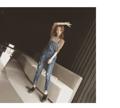 """""""ดูน่ารักตามสไตล์สาวขี้เล่นเมื่อใส่ชุดเอี๊ยมกางเกงขายาว Cowboy Belt Jeans จาก Mirror Dress ที่แต่งชุดด้วยการวางผ้ายีนส์เล่นสลับสดใส  - ผลิตจากผ้าฝ้าย - คอลึก - แขนกุด - มีกระดุมด้านข้างช่วยให้ใส่ได้ง่าย - มีช่องกระเป๋า 2 ข้าง - มีห่วงสอดเข็มขัด 5 ห่วง - ทรงปกติ - ไม่มีซับใน  รอบเอว x รอบสะโพก x รอบต้นขา x ความยาว x รอบปลายกางเกง - S (26.7"""""""" x 38.5"""""""" x 23.6"""""""" x 39"""""""" x 11.4"""""""") - M (28"""""""" x 39.3"""""""" x 24.4"""""""" x 39.5"""""""" x 11.8"""""""") - L (29.3"""""""" x 40"""""""" x 25.2"""""""" x 39.5"""""""" x 12.2"""""""") - XL (30"""""""" x 40.8"""""""" x 26"""""""" x 40"""""""" x 12.6"""""""") - XXL (31.5"""""""" x 41.5"""""""" x 26.8"""""""" x 40"""""""" x 13"""""""")""""  #ชุดเอี๊ยม #เอี๊ยม #เอี๊ยมขายาว"""