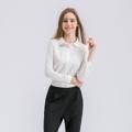 """""""เสื้อเชิ้ต  Stitching Long-Sleeved ดีไซน์เก๋จากแบรนด์ Mirror Dress สำหรับวันสบายๆของทุกคน เลือกใช้เนื้อผ้าที่ต่างกันช่วงแขนเสื้อและตัวเสื้อให้ตัดกันอย่างลงตัว  ทำให้ชุดของคุณดูดีมีสไตล์จนทุกคนไม่อาจปฏิเสธ  - ตัดเย็บด้วยผ้าฝ้าย - คอปกปลายมน - ติดด้วยกระดุมแบบผ่าหน้า - ทรงใส่สบาย - ไม่มีซับใน  ไหล่ x รอบอก x ความยาว x แขนยาว (นิ้ว) S (14.5"""""""" x 34.6"""""""" x 22"""""""" x 24"""""""") M (15"""""""" x 36.2"""""""" x 22.4"""""""" x 24.4"""""""") L (15.3"""""""" x 37.8"""""""" x 22.8"""""""" x 24.8"""""""") XL (15.7"""""""" x 39.3"""""""" x 23.3"""""""" x 25.2"""""""") XXL (16"""""""" x 41"""""""" x 23.7"""""""" x 25.6"""""""")""""  #เสื้อเชิ้ต #เสื้อเชิ้ตแขนยาว #เสื้อเชิ้ตผู้หญิง #เสื้อเชิ้ตสีขาว"""