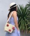 ชื่อสินค้า : Pompom bag รหัสสินค้า : EANT09 กระเป๋าสานทรงถัง แต่งปอมๆ น่ารัก ความยาวสายกำลังดี จุของได้เยอะ ใส่กระเป๋าเงินใบยาวได้น้า  สี: ดำ/ชมพู ราคา: 590.-  #Eachanother  #กระเป๋า #กระเป๋าสะพาย #กระเป๋าผู้หญิง