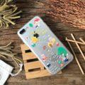 fluffy case Little Pigs case - i6/i6s , i7 , i6+ , i7+ - case screen UV เคลือบแล้ว - เคสใสหลังแข็ง ขอบยางถนอมตัวเครื่อง