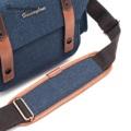 กระเป๋า Herringbone รุ่น Papas Pocket Medium ใช้ได้ทั้งผู้หญิง ก็ดูสวย และผู้ชาย ก็ดูดี เลยจ้า กระเป๋าแนววินเทจ การออกแบบที่คลาสสิก รูปแบบการตกแต่งสวยงาม ภายในสามารถปรับเปลี่ยนฟังก์ชั่นได้อย่างอิสระ และป้องกันกล้องคุณอย่างดี  Papas Pocket Medium เหมาะสำหรับกล้อง D-SLR ,Mirrorless เช่น Fuji X-T20 ,Canon 750D ,Nikon D5600 ,Olympus em5 mark II และเก็บอุปกรณ์อื่นๆ กระเป๋าด้านข้างและกระเป๋าด้านหน้า สามารถเก็บโทรศัพท์มือถือ ได้เช่นกัน  การออกแบบแข็งแรงที่มีคุณภาพสูง ผลิตมาจากผ้าแคนวาส (Canvas) พร้อมกับสายสะพายดูมีสไตล์ มีฟังก์ชันปรับระดับของสายได้ เมื่อหยิบจับกล้องหรืออุปกรณ์ เข้า-ออก ได้สะดวก เหมาะสำหรับใส่กล้อง หรือในชีวิตประจำวัน  + เหมาะสำหรับกล้อง Mirrorless เช่น Fuji X-A3 , E-PL8 , Lumix GX85 + เหมาะสำหรับกล้อง DSLR เช่น EOS 770D , Nikon D750 ,EOS 5D Mark II และเลนส์ซูม 24-105 + ใส่เลนส์ได้ 2 ตัว และอุปกรณ์อื่นๆ + ขนาดภายใน: 33 x 19 x 15 cm