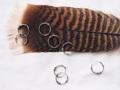 Silver925 Earring ต่างหูเงินแท้ Size 1.3 cm