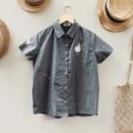 ":: Sheep's Party Shirt :: • Cotton • Chest 41"" • Length 24.5"" • 550THB. **การันตีความน่ารักของน้องแกะน้อย  #เสื้อผ้าผู้หญิง #เสื้อผู้หญิง #เสื้อเชิ้ต #เสื้อเชิ้ตผู้หญิง #เสื้อเชิ้ตแขนสั้น #เสื้อเชิ้ตคอปก"