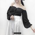 "[TOP] INSTOCK CODE : W002 PRICE : 490THB  SIZE : ONE SIZE BUST 32-36"" LEGTH 13""  #DIAMANDCLOSET  #เสื้อผ้าแฟชั่น #เสื้อผ้า #เสื้อผ้าราคาถูก #เสื้อผ้าเกาหลี #เสื้อผ้าผู้หญิง #เสื้อผ้าน่ารัก #เสื้อผ้าทำงาน #เสื้อผ้าแบรนด์ #เสื้อผ้าพร้อมส่ง #เสื้อผ้าออนไลน์ #เสื้อผ้าสไตล์เกาหลี #เสื้อผ้าวัยรุ่น #เสื้อผ้านำเข้า #เสื้อผ้าคุณภาพดี #เดรส #เดรสแฟชั่น #เดรสสวยๆ #เสื้อผ้าสวยๆ #เสื้อปาดไหล่ #ปาดไหล่ #เสื้อเปิดไหล่ #เปิดไหล่"