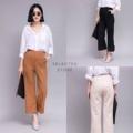 """Suede Pants :: กางเกงขายาวผ้าหนังกลับ เอวยางยืด จีบหน้า ซิปหลัง ดีเทลพับขา ทรงสวยค่าาา  3 สี :: ดำ น้ำตาล ครีม  ไซต์ :: เอว24-30"""" สพ36"""" ยาว35""""  #กางเกง #กางเกงผู้หญิง #กางเกงขายาว #กางเกงขายาวผู้หญิง"""