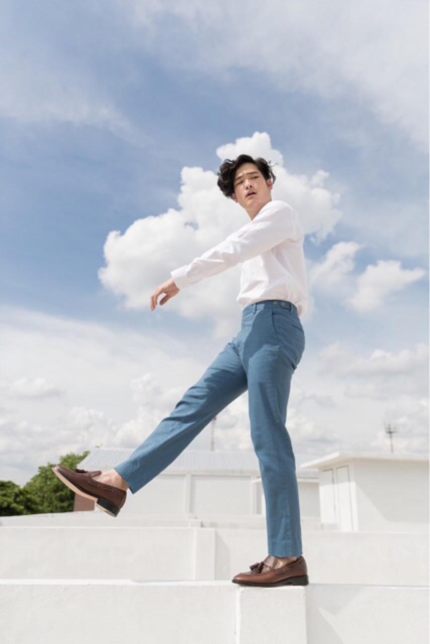 GROUNDER,กางเกง,กางเกงขายาว,กางเกงผู้ชาย,กางเกงผู้ชายขายาว,กางเกงขายาวผู้ชาย