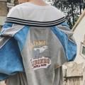 """Ulzzang Oversized Jacket  Jacket ทรง Oversized ใส่คลุมเท่ห์ๆ  งานนำเข้า ผลิตจากผ้าลูกฟูก  สวมใส่ได้ทั้งชายและหญิง  ขนาดรอบอก 46"""" ยาว21"""" แขนยาว27""""  Price : 1,290.-    #เสื้อคลุม #เสื้อคลุมแขนยาว #เสื้อแจ็คเก็ต #แจ็คเก็ต"""