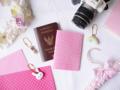 size : fit with passport material : printed felt  detail : ปกพาสปอร์ตพิมพ์ลายจุด/หัวใจสีขาวบนปกผ้า colour : 20 colours polkadot / heart  แจ้งสีที่ต้องการจากรูปภาพด้านบนได้เลยค่ะ สามารถติดต่อร้านค้าที่ช่องแชทภายในแอพ หรือเว็บไซต์ได้เลยนะคะ
