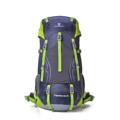 Greenlan Backpack กระเป๋าเป้สะพายหลัง ความจุ 50 ลิตร GL01 - (Dark Blue)  สำหรับผู้ที่ชอบเดินทาง เดินป่า ขึ้นเขา ด้วยความจุ 50 ลิตร สามารถใช้เดินทางได้ 4-14 วัน  รายละเอียดสินค้า : กระเป๋าทำจากเนื้อไนลอน กันน้ำ แผ่นหลังเป็นตาข่ายระบบ Air Comfort ระบายเหงื่อ มีสายคาดหน้าอก และรัดเอว สามารถสะพายขึ้นเครื่องบินได้ ไม่ต้องโหลด ใช้เดินทางได้ 4-14 วัน มีช่องใส่ Notebook พร้อมสายรัด ใส่ Notebook  น้ำหนักกระเป๋า : 1.4 กิโลกรรม  ขนาดกระเป๋า : กว้าง 35 x ลึก 20 x สูง 70 ซ.ม. ( ความจุ 50+5 ลิตร )   #กระเป๋า #กระเป๋าผ้า #กระเป๋าเป้ #กระเป๋าสะพาย #กระเป๋าเดินทาง