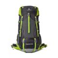 Greenlan Backpack กระเป๋าเป้สะพายหลัง ความจุ 50 ลิตร GL01 - (Black)  สำหรับผู้ที่ชอบเดินทาง เดินป่า ขึ้นเขา ด้วยความจุ 50 ลิตร สามารถใช้เดินทางได้ 4-14 วัน  รายละเอียดสินค้า : กระเป๋าทำจากเนื้อไนลอน กันน้ำ แผ่นหลังเป็นตาข่ายระบบ Air Comfort ระบายเหงื่อ มีสายคาดหน้าอก และรัดเอว สามารถสะพายขึ้นเครื่องบินได้ ไม่ต้องโหลด ใช้เดินทางได้ 4-14 วัน มีช่องใส่ Notebook พร้อมสายรัด ใส่ Notebook  น้ำหนักกระเป๋า : 1.4 กิโลกรรม  ขนาดกระเป๋า : กว้าง 35 x ลึก 20 x สูง 70 ซ.ม. ( ความจุ 50+5 ลิตร )  #กระเป๋า #กระเป๋าผ้า #กระเป๋าเป้ #กระเป๋าสะพาย #กระเป๋าเดินทาง