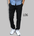 รหัสสินค้า : L06 รายละเอียดสินค้า กางเกงผ้า Chino ที่ฮิตที่สุดในขณะนี้  ราคาเดียวทุกสีทุกไซส์ 390 บาท  กางเกงชิโน่ ขายาว ทรงกระบอกเล็ก เนื้อผ้า Cotton 100% คุณภาพเยี่ยม นิ่ม ใส่สบาย รับประกันสีไม่ตก ไม่ซีด มีให้เลือกมากถึง 18 เฉดสี  เอวมีไซส์ 30, 32, 34, 36, 38  L01 สีเลือดหมู L02 สีกากี L03 สีเขียวขี้ม้า L04 สีเทา L05 สีกรมท่าอ่อน L06 สีดำ L07 สีครีม L08 สีน้ำตาลไหม้ L09 สีกรมท่าเข้ม L10 สีส้มอิฐ L11 สีน้ำตาล L12 สีเทาอ่อน L13 สีน้ำตาลโกโก้ L14 ลายพราง *หมด L15  สีเขียวทหาร L16 สีน้ำทะเล L17 สีกากีเข้ม L18 สีเทาดำ *หมด  #กางเกง #กางเกงขายาว #กางเกงผู้ชาย #กางเกงผู้ชายขายาว #กางเกงขายาวผู้ชาย