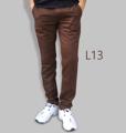 รหัสสินค้า : L13 รายละเอียดสินค้า กางเกงผ้า Chino ที่ฮิตที่สุดในขณะนี้  ราคาเดียวทุกสีทุกไซส์ 390 บาท  กางเกงชิโน่ ขายาว ทรงกระบอกเล็ก เนื้อผ้า Cotton 100% คุณภาพเยี่ยม นิ่ม ใส่สบาย รับประกันสีไม่ตก ไม่ซีด มีให้เลือกมากถึง 18 เฉดสี  เอวมีไซส์ 30, 32, 34, 36, 38  L01 สีเลือดหมู L02 สีกากี L03 สีเขียวขี้ม้า L04 สีเทา L05 สีกรมท่าอ่อน L06 สีดำ L07 สีครีม L08 สีน้ำตาลไหม้ L09 สีกรมท่าเข้ม L10 สีส้มอิฐ L11 สีน้ำตาล L12 สีเทาอ่อน L13 สีน้ำตาลโกโก้ L14 ลายพราง *หมด L15  สีเขียวทหาร L16 สีน้ำทะเล L17 สีกากีเข้ม L18 สีเทาดำ *หมด  #กางเกง #กางเกงขายาว #กางเกงผู้ชาย #กางเกงผู้ชายขายาว #กางเกงขายาวผู้ชาย