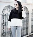 — ST013 — ตัวนี้ขายหมดไวมากกสำหรับ Two Tone Sweater เสื้อหนาวขาวดำตัดกัน ทรงสวยน่ารักมากๆๆ แขนเสื้อใหญ่ปลายแขนบานออกนิดหน่อย ความหนาปานกลาง ใครไม่อยากพลาดรีบสั่งเลย ไม่มีมาเพิ่มแล้วจ้า  Price: 400thb (from 600.-) Size: Freesize  #sismaniastore #st013sismania #เสื้อหนาว #เสื้อเสวทเตอร์ #เสื้อผู้หญิง #เสื้อผ้าผู้หญิง #เสื้อแขนยาว