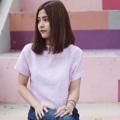 """ชื่อสินค้า : Basic Crop V Back เสื้อแขนสั้น คอกลม หลังวี ด้านหลังเพิ่มดีไซน์เป็นกระดุมติด น่ารัก ใสๆ  100% linen เนื้อผ้าดีไม่ร้อน สี Soft pink Size: S chest 36""""  #เสื้อผู้หญิง #เสื้อผ้าผู้หญิง #เสื้อคอกลม #เสื้อแขนสั้น"""
