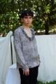 ชื่อสินค้า : Satin shirt เสื้อเชิ้ตทรงใหญ่เนื้อผ้าซาติน ลายเสื้อดาว m รอบอก 44 L รอบอก 46  #เสื้อผู้ชาย #เสื้อแขนยาว