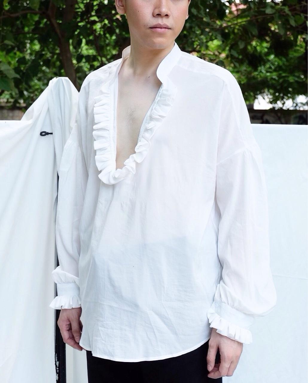 เสื้อเชิ้ต,เสื้อเชิ้ตผู้ชาย,เสื้อเชิ้ตแขนยาว,เสื้อเชิ้ตคอวี,เสื้อเชิ้ตสีขาว,เสื้อสีขาว,เสื้อแขนยาว